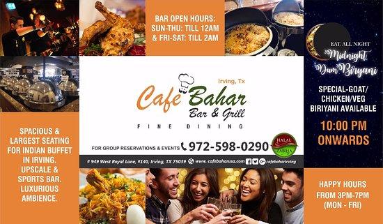Ирвинг, Техас: Upscale Bar & Indian cuisine buffet