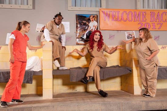 Jubilations Dinner Theatre: Orange is the New Pink is playing October 20 - January 20, 2018. Call 780-484-2424 to book.