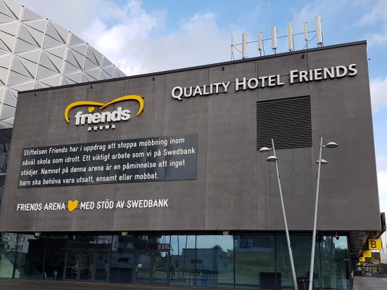 Solna, Sweden: Friends arena