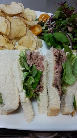 The Waymarker: Beef and watercress sandwich