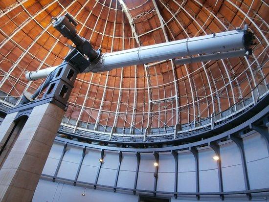 Côte d'Azur Observatory: Interieur de la coupole