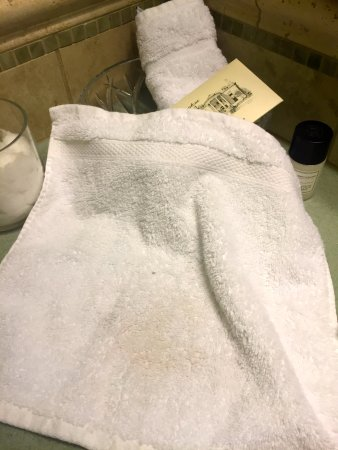 Graystone Inn: washcloth