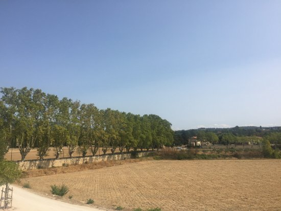 Ansouis, France: View from the terrace