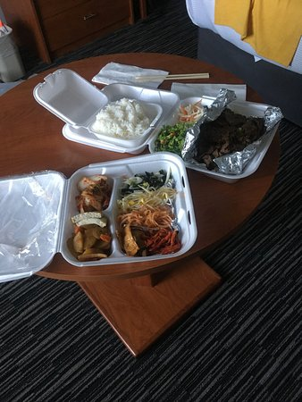 Marina, CA: My takeout feast with all the trimmings