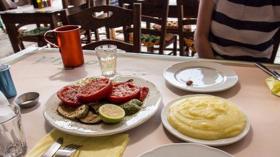 Sodia: Овощи-гриль и скордалья