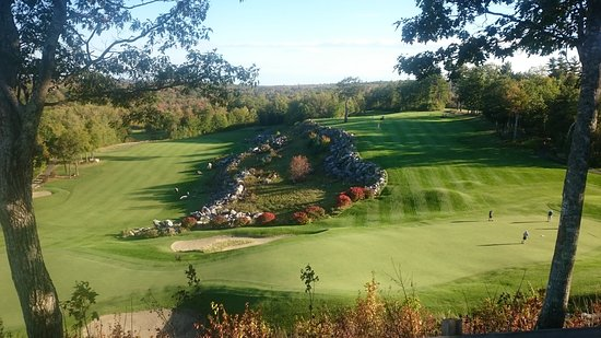 Belgrade Lakes, ME: 9th & 18th Holes