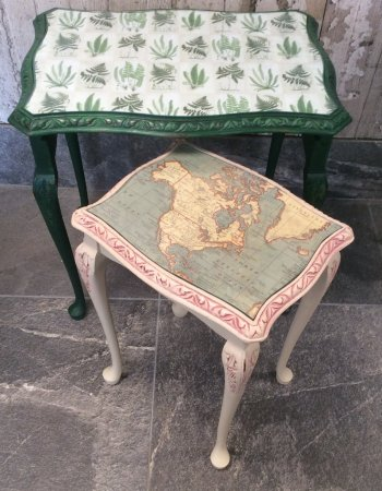 Peachy Decoupage Tables Picture Of Homely At Hebden Hebden Machost Co Dining Chair Design Ideas Machostcouk