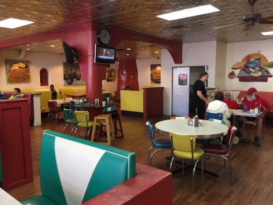 Las Vegas, NM: Charlie's Cafe Area