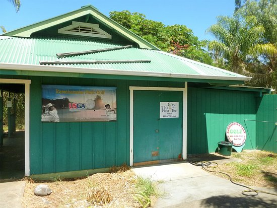 Kapaau, HI: Pay here for golf or disc golf