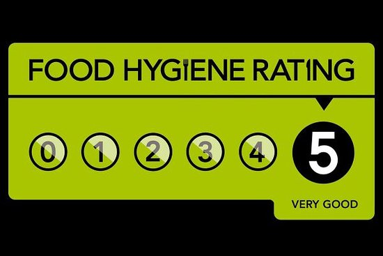 Knighton, UK: Rewarded with another 5 Powys Hygiene Rating