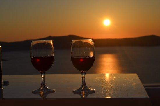 Sunset in Villa Renos