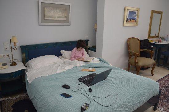 Villa Renos: Double bed