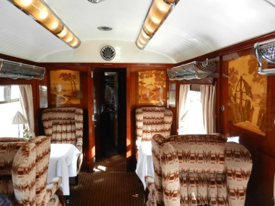 interior view of british pullman car picture of venice simplon orient express day trips. Black Bedroom Furniture Sets. Home Design Ideas