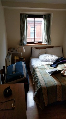 Seven Dials Hotel: The tiny room