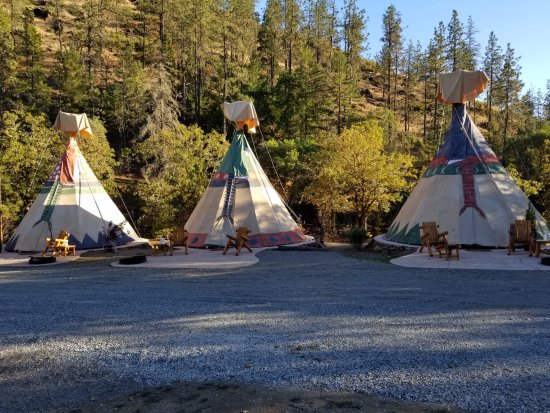 Grants Pass, Oregón: Teepees you can rent