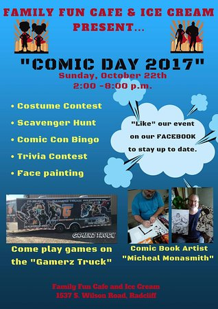 Radcliff, KY: Comic Day 2017