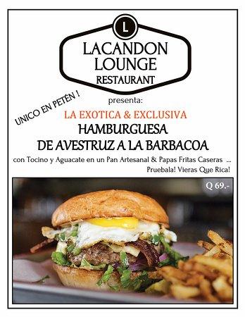 Flores Waterfront Hotel Lacandon : ESPECIALIDAD !