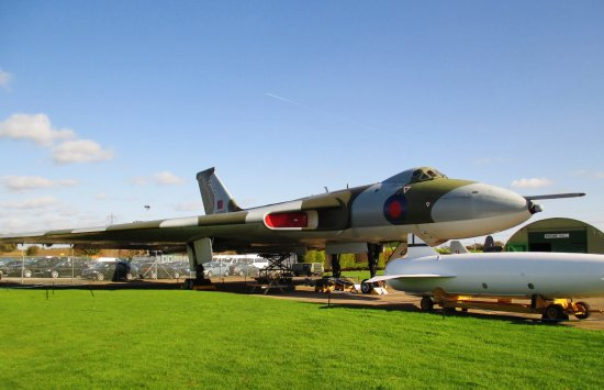 Newark-on-Trent, UK: Vulcan Bomber