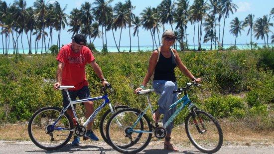 Makunduchi, แทนซาเนีย: Diese Fahrräder kann man sich im Hotel ausleihen