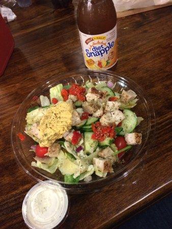 Champaign, IL: Mediterranian salad