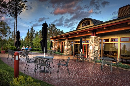 Tower, MN: The Wilderness Grill Patio