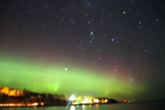 Tofte, MN: Looking north along the lake on a clear crisp evening you may see the northern lights!