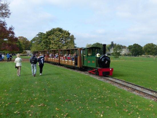Burford, UK: the narrow gauge train