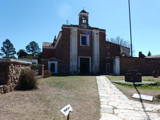 Jesus Maria, Argentina: Frente de la iglesia