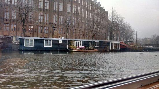 "Herengracht: ""Casas barcos""."