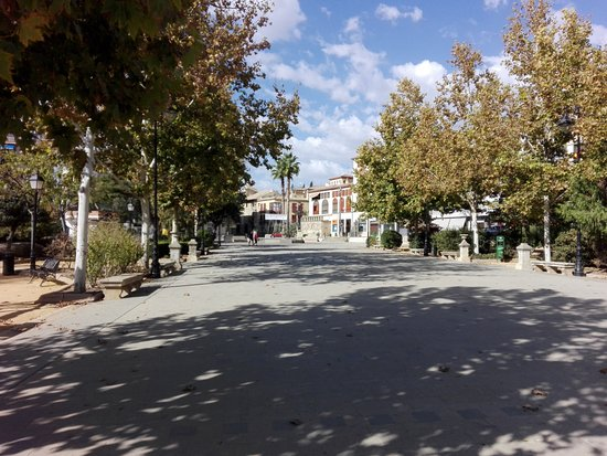 Alcalá la Real, España: Paseo de Los álamos