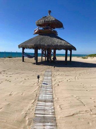 Villa Santa Cruz: Hammocks, 2 story palapa with Beautiful views