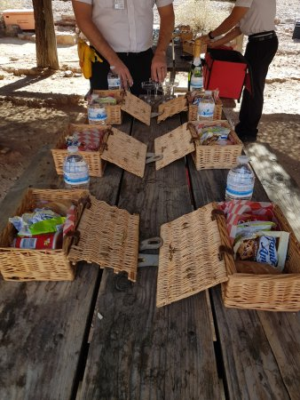Grand Canyon Helicopters - Grand Canyon National Park: Provided Picnic