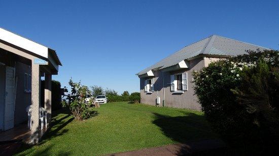 Bourg-Murat, Pulau Reunion: Chaque bungalow abrite deux logements