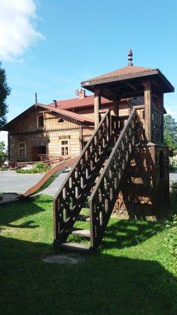 Restauracja Klemens: Wieża z placu zabaw