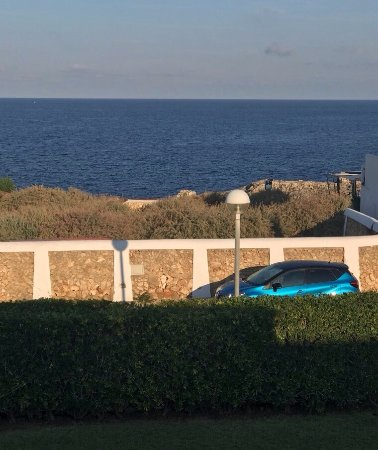 Los Lentiscos: Stunning sunset views from our sea view balcony