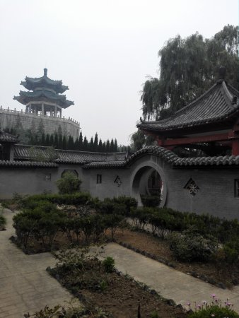 Zibo, China: Liaozhai Park