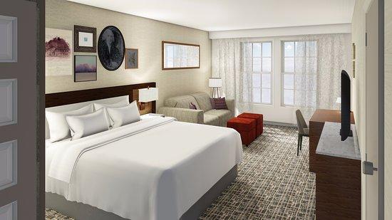 Harrisonburg, VA: King Room with Sofa-Sleeper