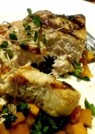 Glastonbury, CT : Grilled Swordfish Perfection.