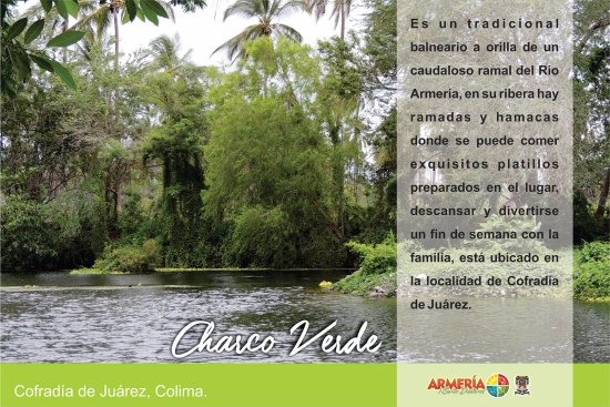 Armeria, Mexico: CHARCO VERDE