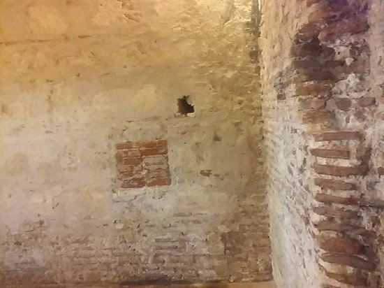 Château de San Felipe de Barajas : Dentro do castelo