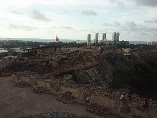 Château de San Felipe de Barajas : Vista panorâmica