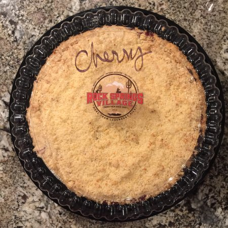 "Black Canyon City, AZ: 9"" Thick Fresh Cherry Pie for $21....if only they were X I'd buy 2 or...."