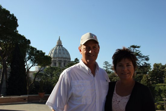 Skip the Line: Vatican Museums, Sistine Chapel and St. Peter's Basilica Tour: St. Peter's before the tour.