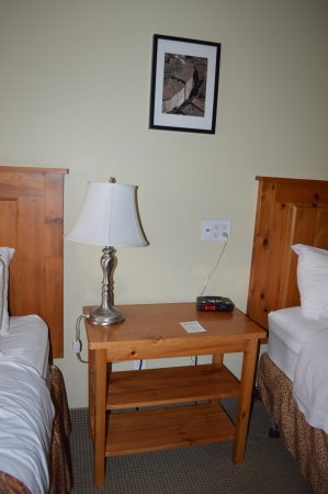 Fernie, Canada: Bedside table