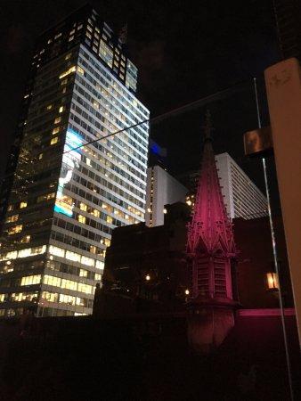 Sanctuary Hotel New York: Rooftop Bar & Restaurant Views Are Stunning!
