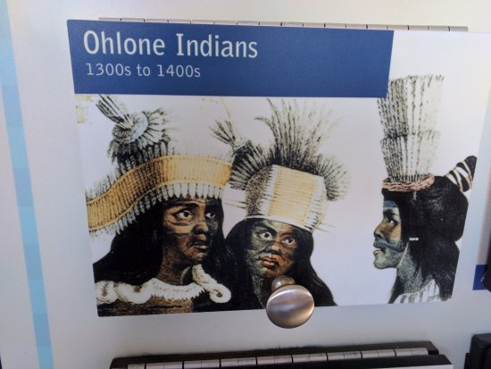 Pescadero, Kalifornien: The history of the Ohlone Indians displayed in the Signals Room