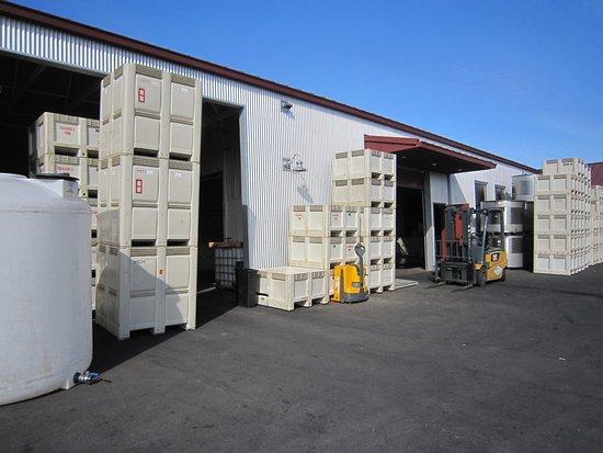 Brooks Wine: Production facility