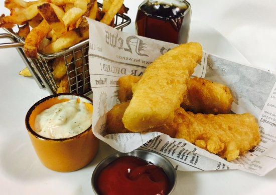 Gainesville, VA: Fish & Chips with Lemon Thyme Aioli