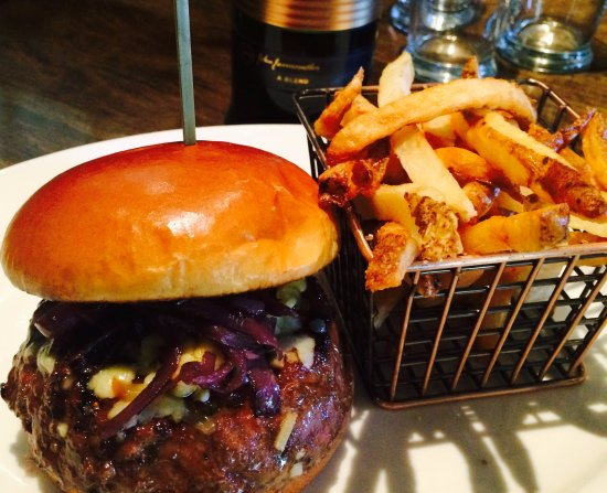 Gainesville, VA: Whiskey Burger with Hand Cut Fries