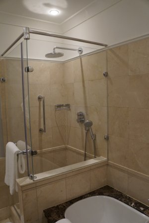 The Ritz Carlton, Budapest: Standalone Shower